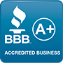 BBB Acredited Business logo Dr. Duct