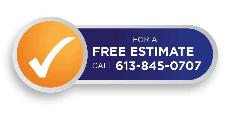 For Free Estimate Call 613-845-0707